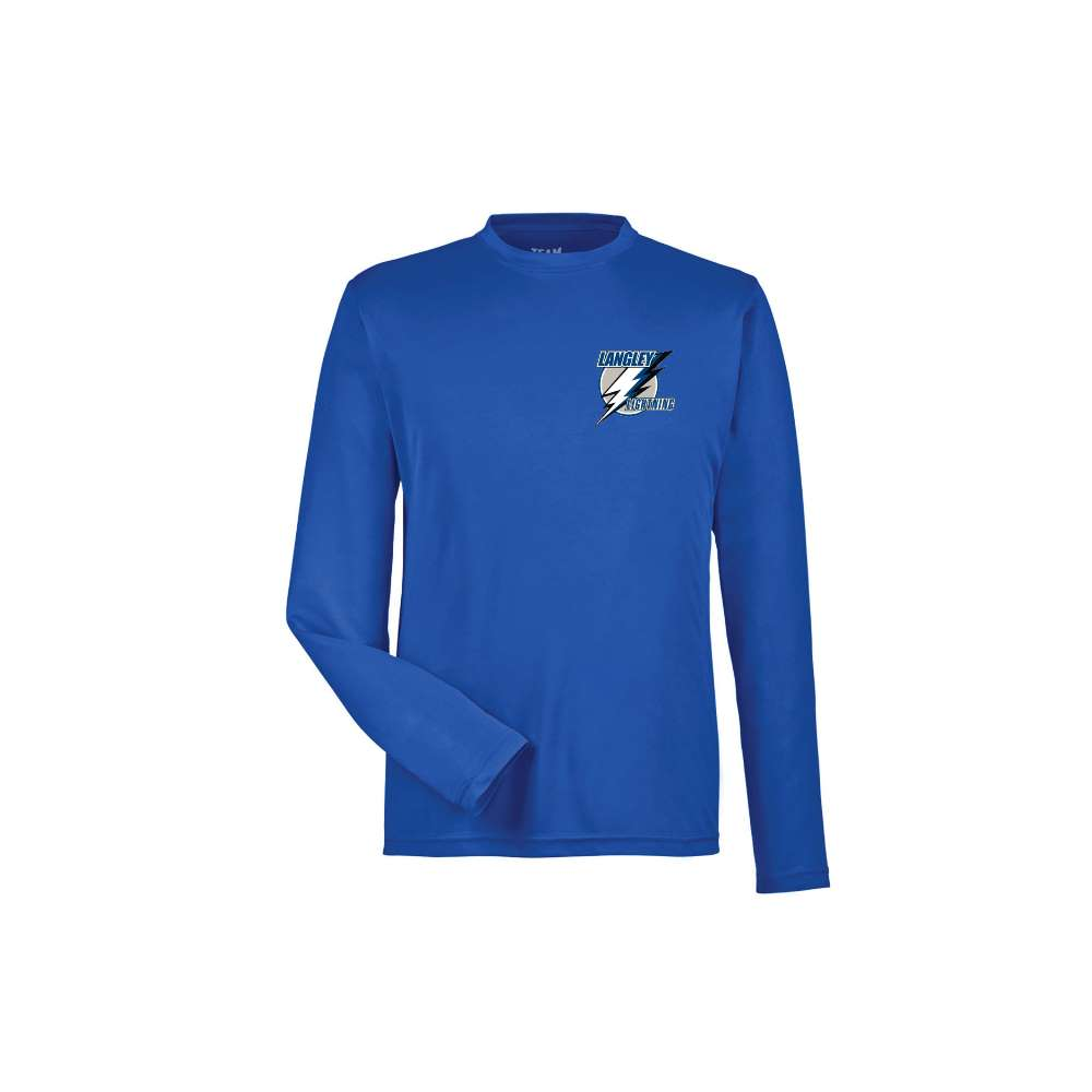 Lightning Long Sleeve Dryfit Shirt - Youth