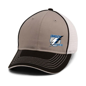Lightning Piped Mesh Hat