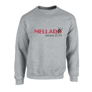Mellado Crew Neck Sweatshirt w/Embroidered Logo - Adult