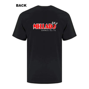 Mellado Dance Basic Tee - Adult