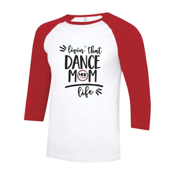 Mellado Dance Mom Baseball Tee - Unisex