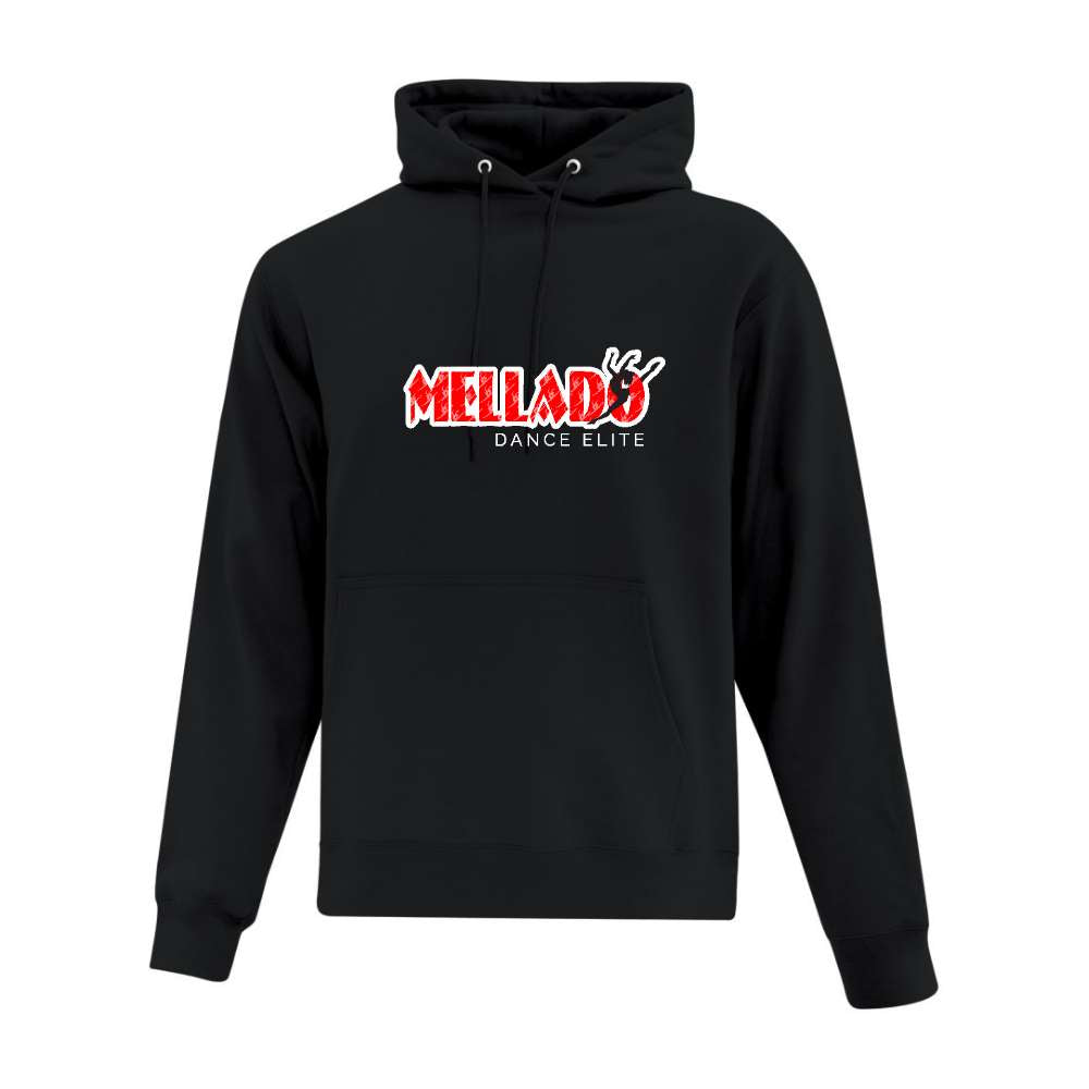 Mellado Dance Hoodie Applique Logo - Adult