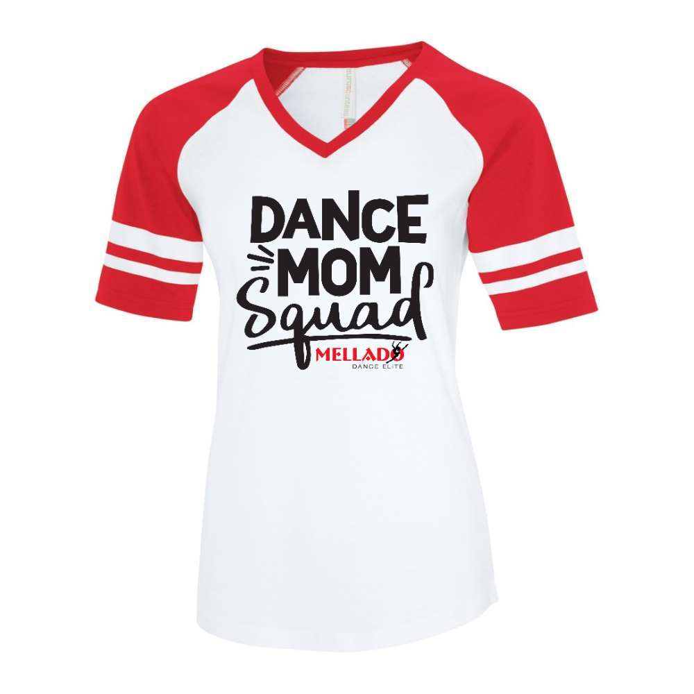 Mellado Dance Mom Baseball Tee - Ladies