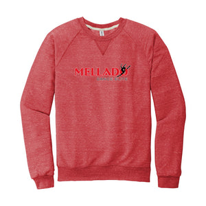Mellado Dance Snow Heather Crew Neck Sweatshirt - Unisex