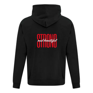 Mellado Strong and Beautiful Hoodie - Unisex