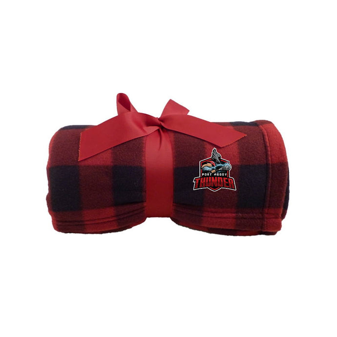 PMLA Plaid Fleece Blanket
