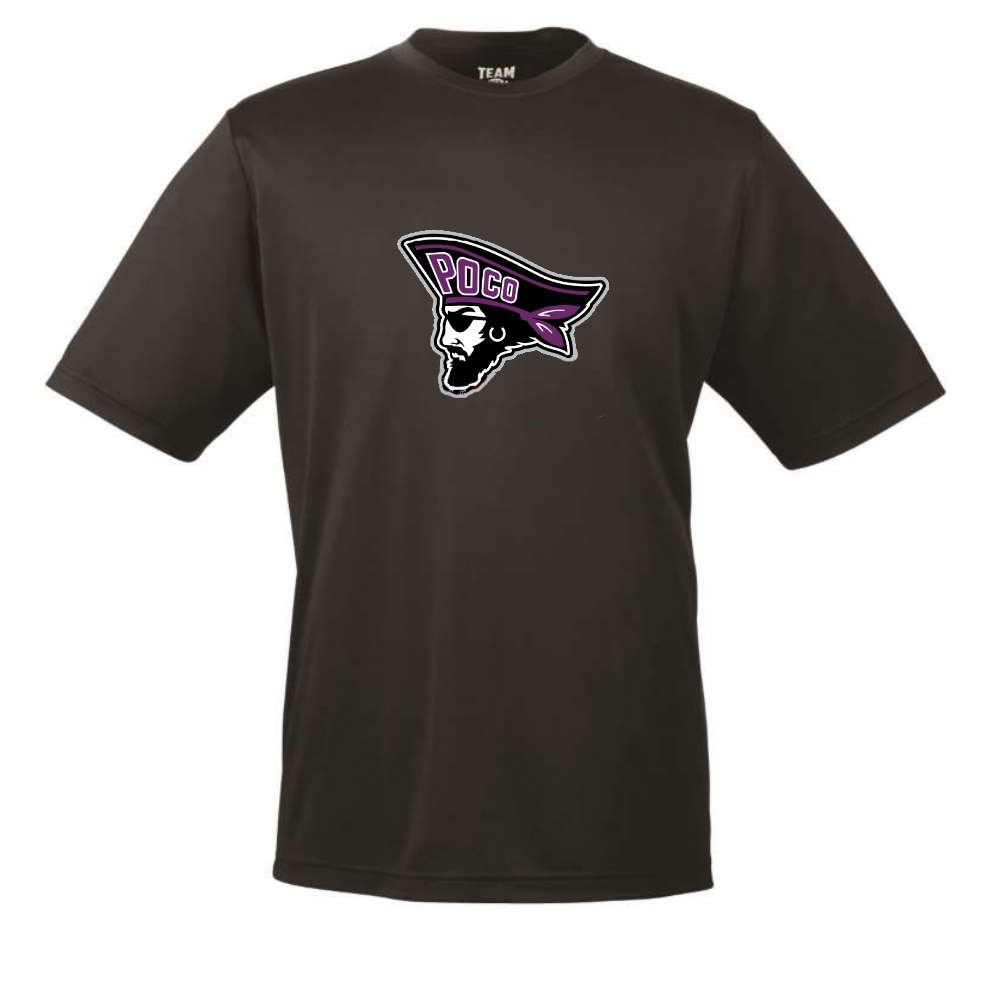 Poco Pirates Short Sleeve Dryfit Tee - Youth