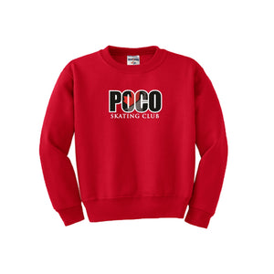 Poco Skating Club Crew Neck Sweatshirt - Adult