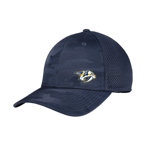 Predators Camo Stretch Fitted Mesh Hat