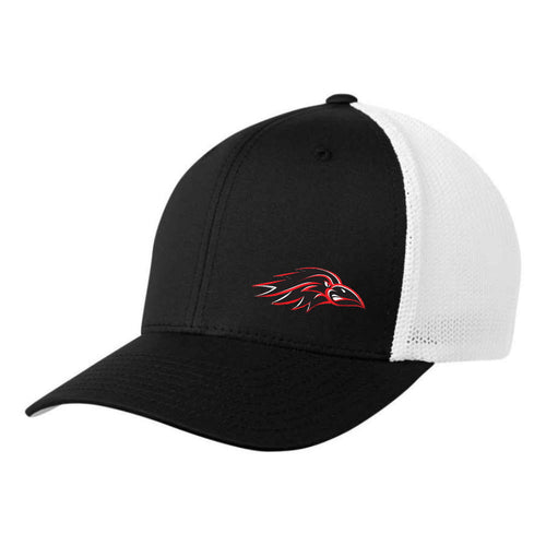 Ravens Hat - FlexFit Fitted Mesh - Youth