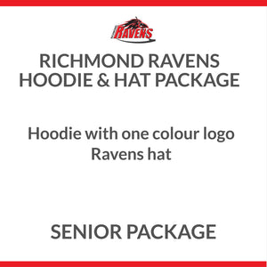 Ravens Hoodie & Hat Package - Senior