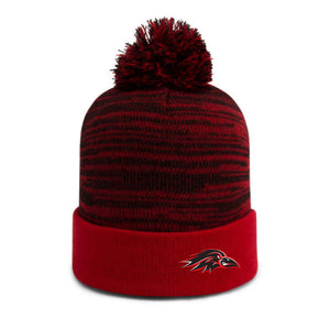 Ravens Heather Pom Toque