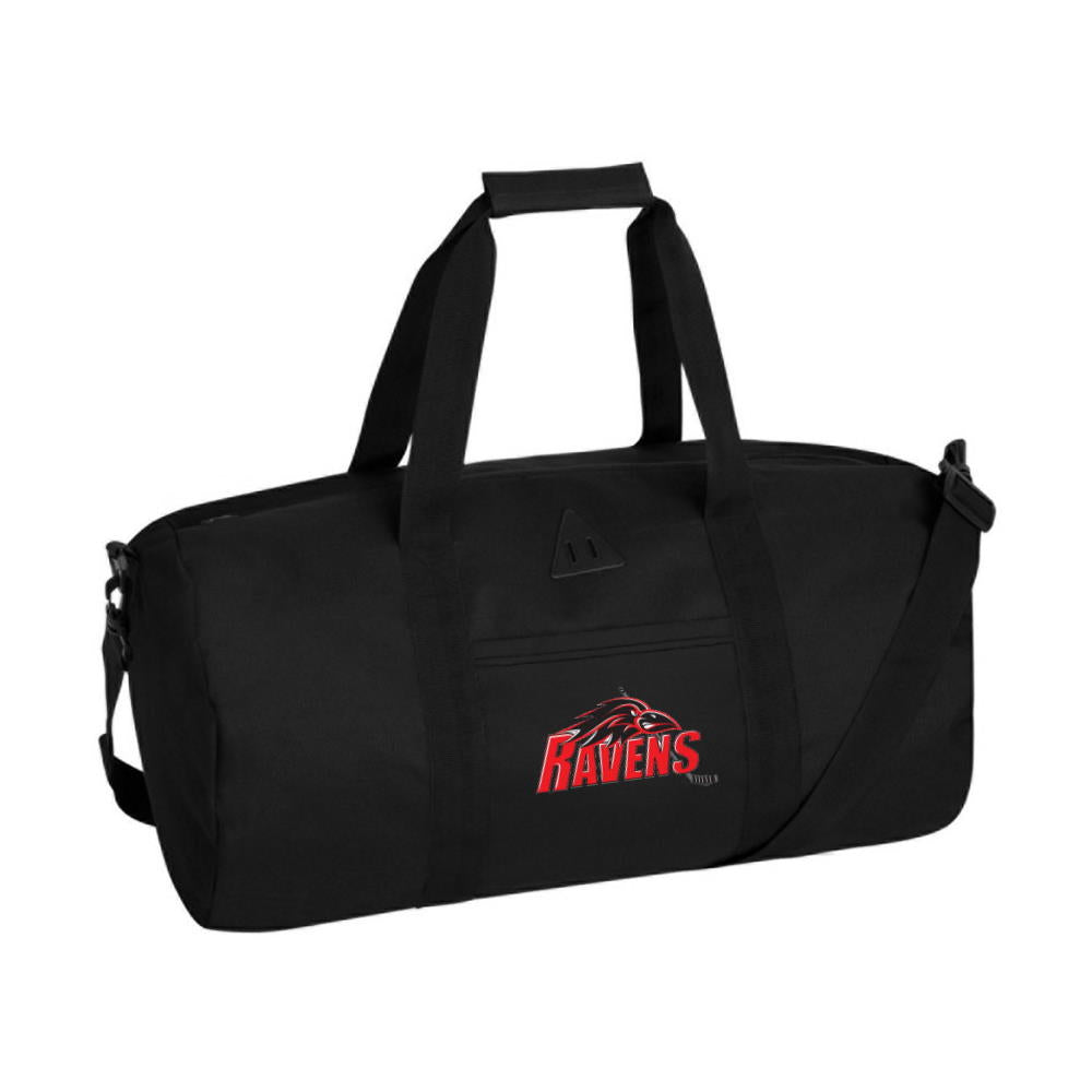 Ravens Retro Barrel Duffel Bag