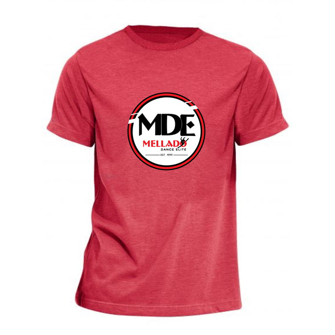 Mellado Dance Tee with Hollywood Back Logo - Adult