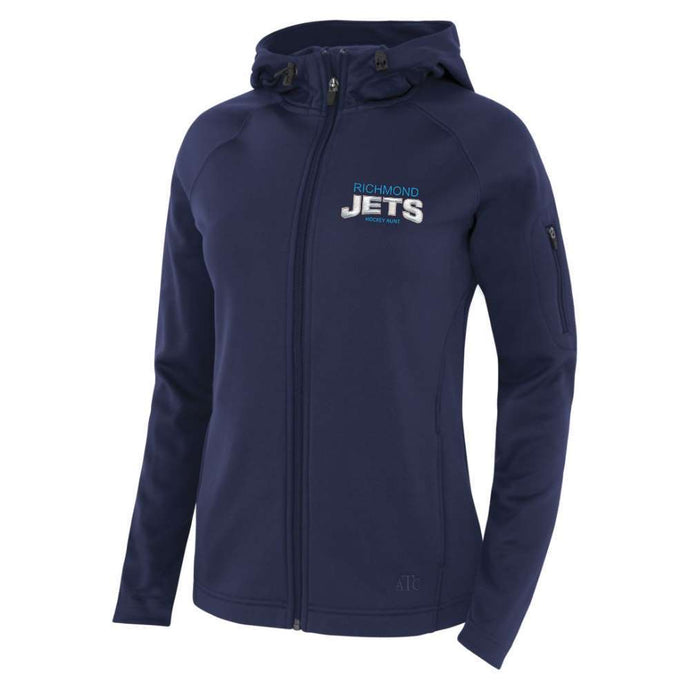 Richmond Jets Jacket - Fleece Hooded - Hockey Aunt