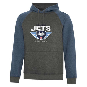 Richmond Jets Hoodie - Vintage Felt - Adult