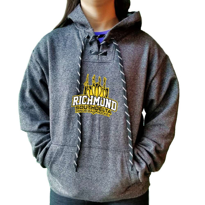 Richmond South Delta Minor Ball Hockey Marle Hoodie  - Youth