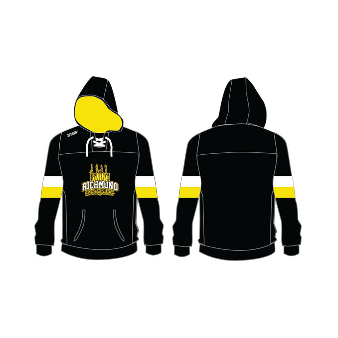 Richmond South Delta Minor Ball Hockey Custom Cotton Embroidered Hoodie - Adult