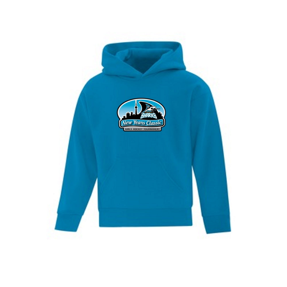 Sharks New Year's Classic Hoodie - Youth