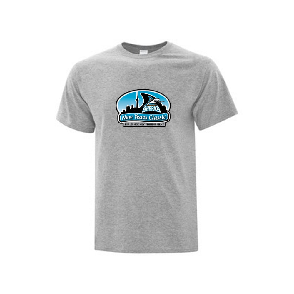 Sharks New Year's Classic T-shirt - Adult