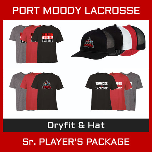 PMLA Hat & Dryfit Package  - Senior