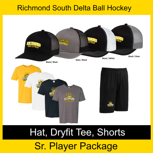 Richmond South Delta Minor Ball Hockey Sr Player Package