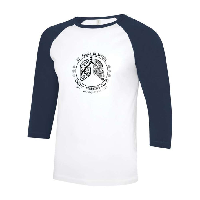 St. Paul's CF Clinic Baseball Tee - Adult