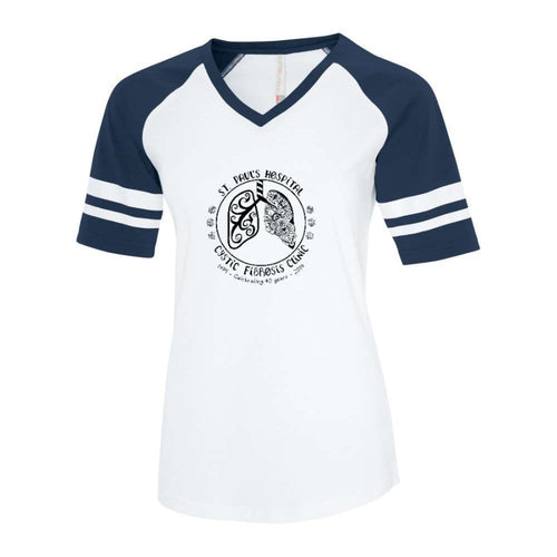 St. Paul's CF Clinic Baseball Tee - Ladies