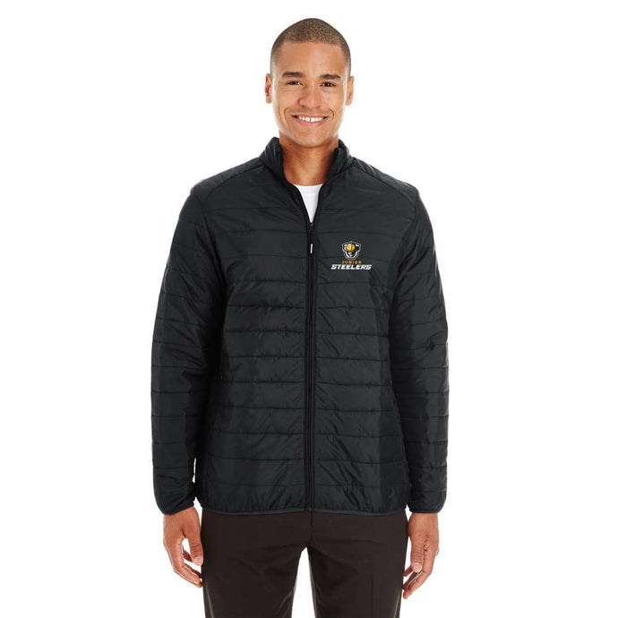 Jr Steelers Puffy Jacket - Mens