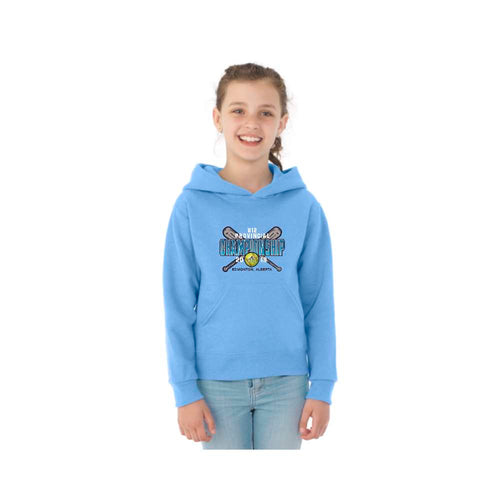 Softball Alberta U12 Provincials Light Blue Hoodie - Youth