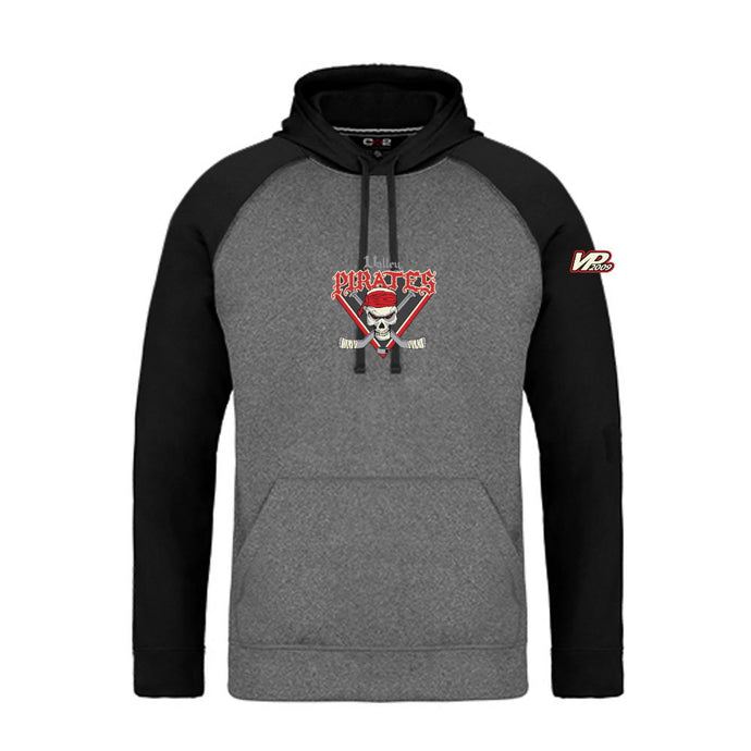 Valley Pirates 2-Tone Hoodie - Adult