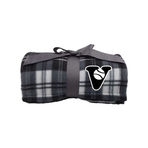 Vancouver Minor Softball Blanket - Plaid Fleece