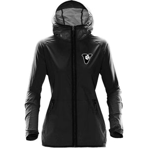 Vancouver Minor Softball Lightweight Hooded Shell - Ladies