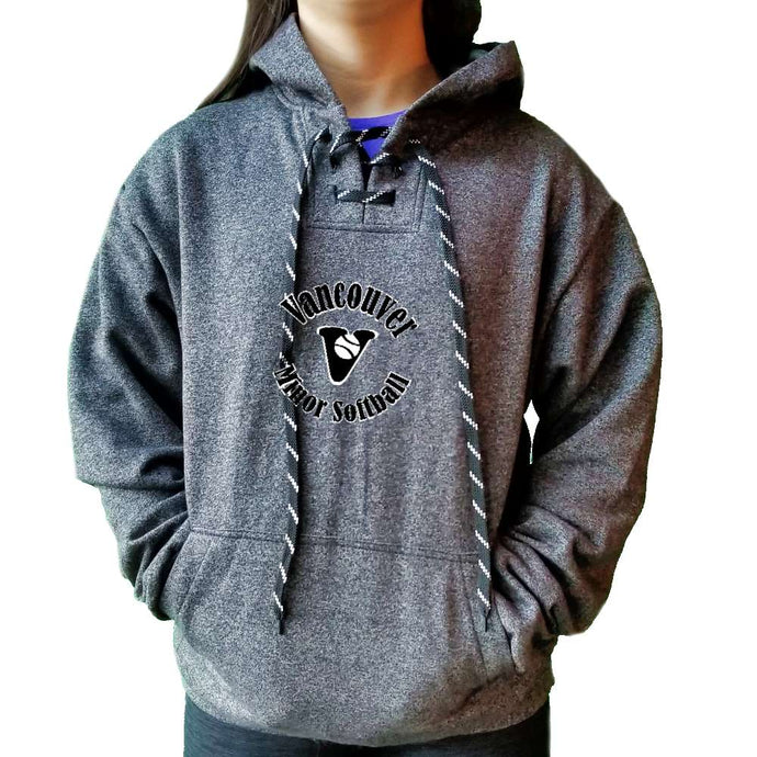 Vancouver Minor Softball Hoodie - Marle Adult