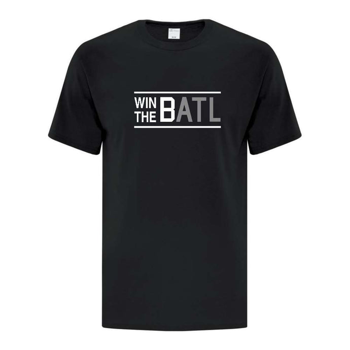 Vancouver Minor Softball Tee - Win the Batl - Adult