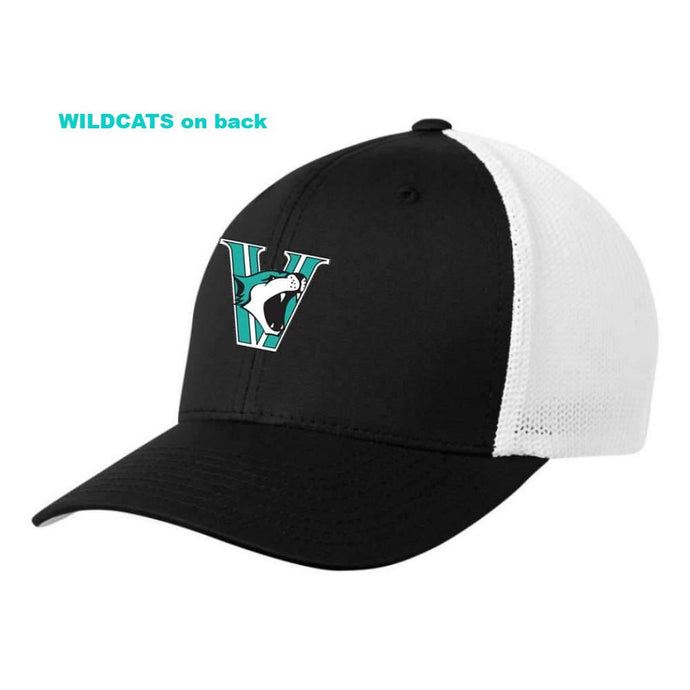 Vancouver Minor Softball Wildcats Hat - FlexFit Fitted Mesh - Youth