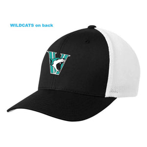 Vancouver Minor Softball Wildcats Hat - FlexFit Fitted Mesh - Adult