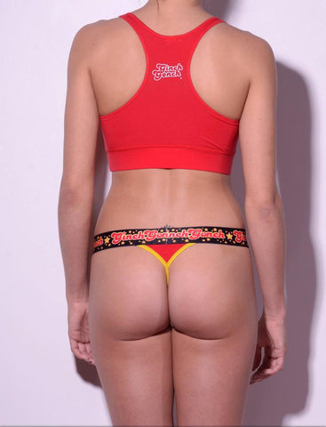 Atomic Fireballs Women's Thong Underwear