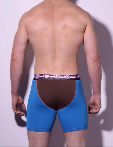 Blue Coconuts Long Brief - Men's Underwear