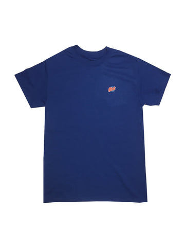 GG Blue T-Shirt with Full Logo For Men