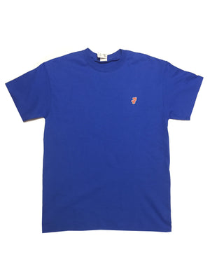 GG Blue T-Shirt with Initials For Men