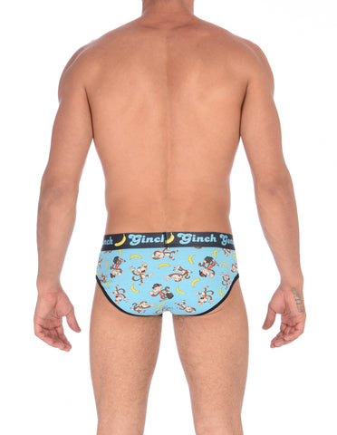 Monkey Business Men's Low Rise Brief Underwear