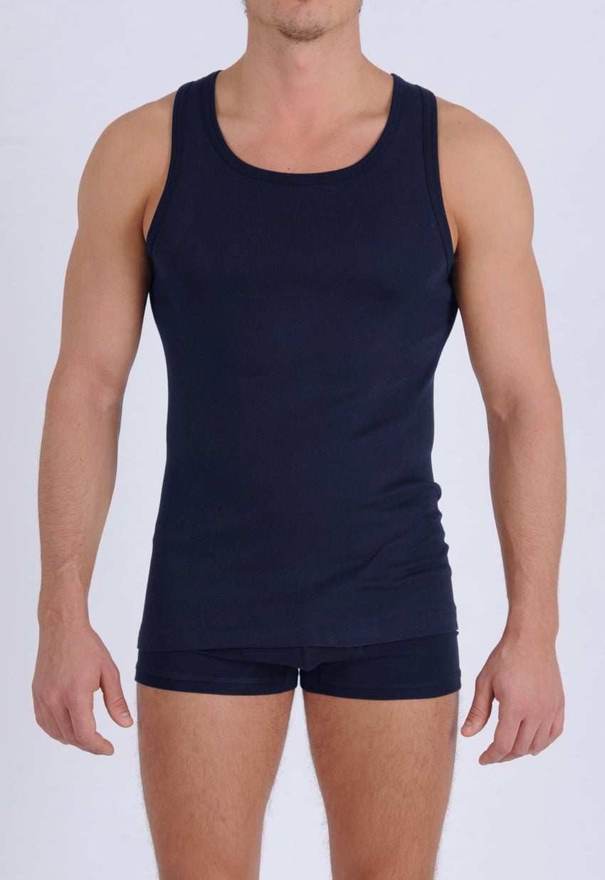 Men's Signature Series - Tank Top Navy