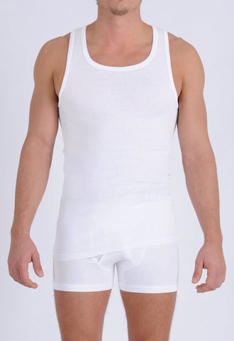 Men's Signature Series - Tank Top White