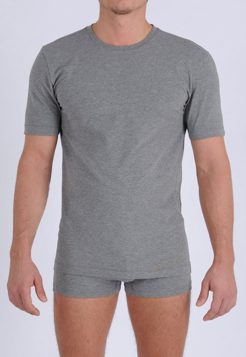 Men's Signature Series - Crew Neck T-Shirt Grey
