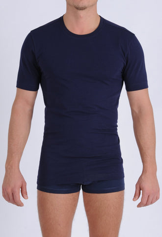 Men's Signature Series - Crew Neck T-Shirt Navy
