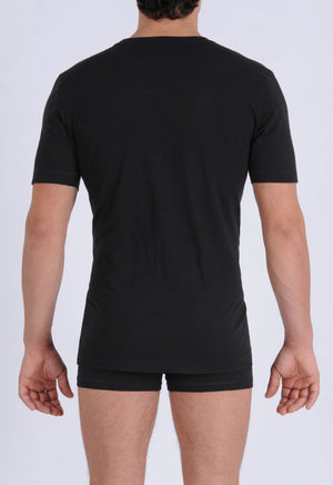 Men's Signature Series - V-Neck T-Shirt Black