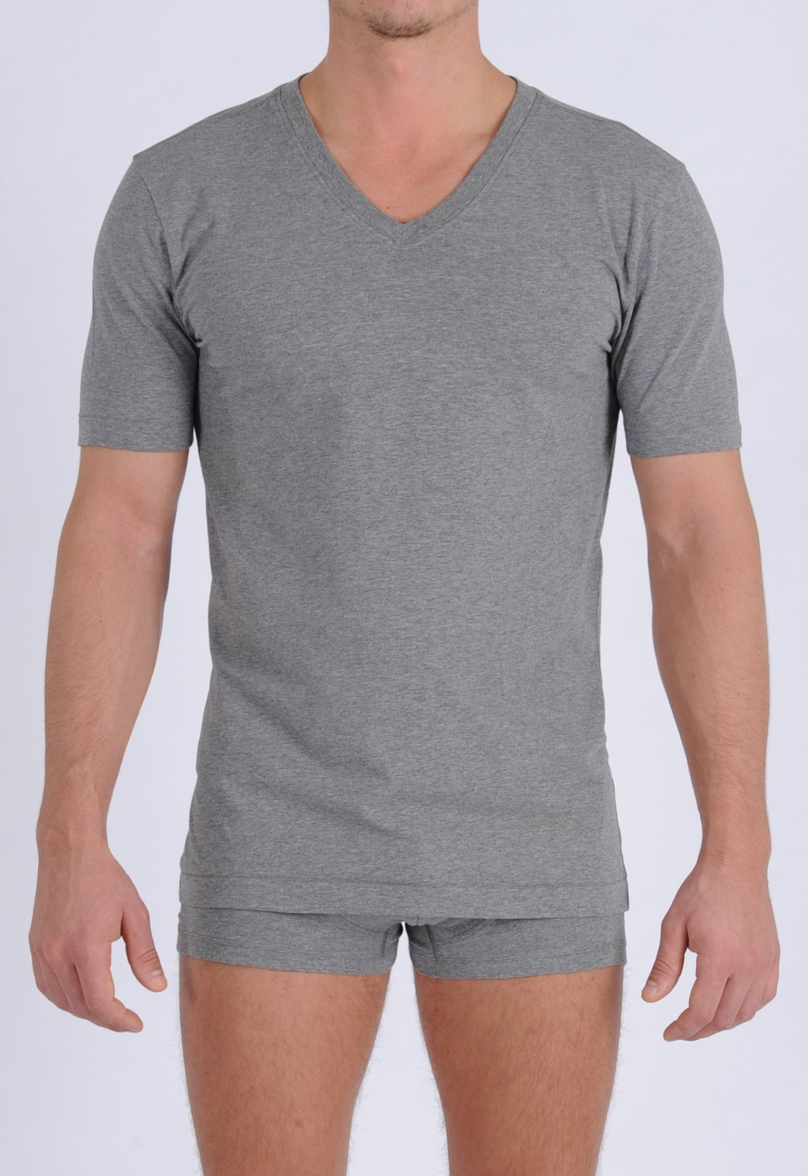 Men's Signature Series - V-Neck T-Shirt Grey