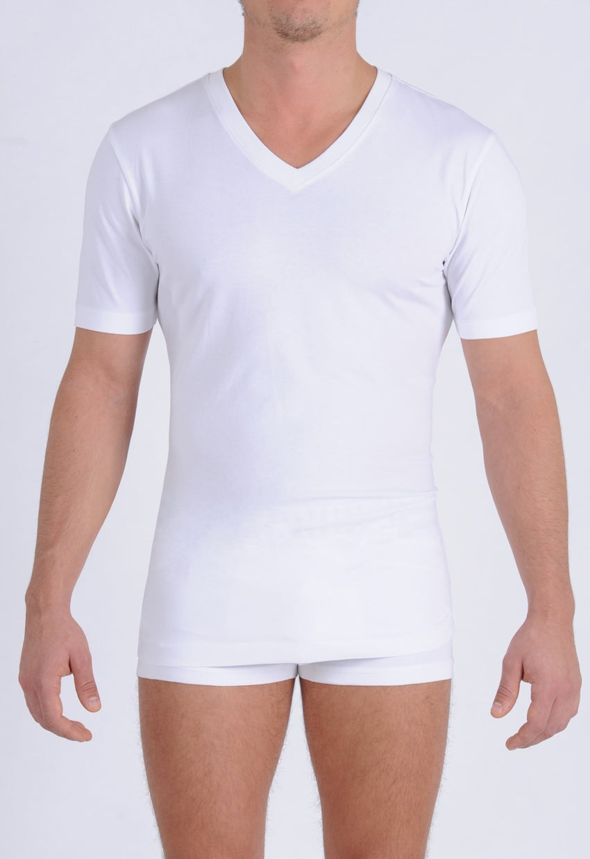 Men's Signature Series - V-Neck T-Shirt White
