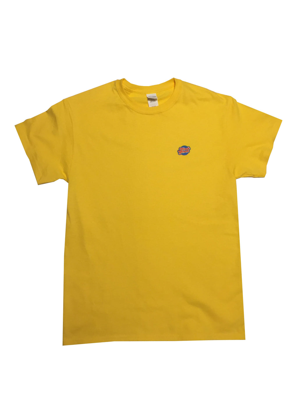 GG Yellow T-Shirt with Full Logo (Men & Women)